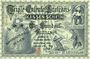 Banknoten Allemagne, Triple-Entente. Billet satirique de 100 francs, Berlin, Wien 1914