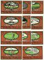 Banknoten Kahla. Sportverein. Série de 11 billets. 50 pf (6ex), 75 pf (6ex) n. d. - 1.7.1922