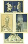 Banknoten Kahla. Stadt. Billets. 75 pf (4ex) 1.12.1921, série politique