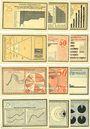 Banknoten Kahla. Stadt. Série de 12 billets. 25 pf (4ex), 50 pf (4ex), 75 pf (4ex) 15.10.1921, statistiques