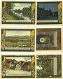 Banknoten Kahla. Stadt. Série de 3 billets. 75 pf (6 ex) 1.11.1921, série ville et campagne