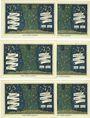 Banknoten Kahla. Stadt. Série de 6 billets. 75 pf (6ex) 1.12.1921, sans numérotation, série politique