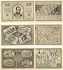Banknoten Kahla. Thüringer Schachbund. Série de 6 billets. 75 pf n.d. - 1.11.1921