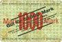 Banknoten Kaiserslautern. G. M. Pfaff, Nähmaschinenfabrik. Billet. 50000 mk surchargé /1000 mk n.d.- 15.9.1923