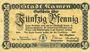 Banknoten Kamen. Stadt. Billet. 50 pf 19.11.1918