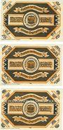 Banknoten Kandrzin-Pogorzelletz (Kedzierzyn, Pologne), Gemeinde. 3 billets. 1/2, 1 1/2, 3 mark 6.6.1921