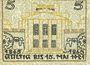 Banknoten Kattowitz (Katowice, Pologne). Stadt. Billet. 5 mark 16.3.1921
