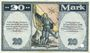 Banknoten Kaufbeuren. Stadt. Billet. 20 mark 15.10.1918. Annulation par perforation