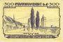 Banknoten Kehl. Stadt. Billet. 500 mark 20.10.1922