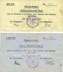 Banknoten Kehl. Stadt. Billets. 500 000, 1 million mark 15.8.1923