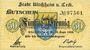 Banknoten Kirchheim u. Teck. Stadt. Billet. 50 pf 19.9.1918