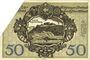 Banknoten Kitzingen. Distriktsgemeinde. Dettelbach, Marktbreit. Billet. 50 mark 9.11.1918