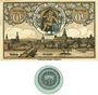 Banknoten Kitzingen. Stadt. Billet. 50 pf n.d.-fin août 1920. Valeur à l'avers et au revers, 1 pf n.d. (1920)