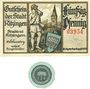 Banknoten Kitzingen. Stadt. Billets. 50 pf n.d. - fin août 1920, 1 pf n.d. (1920)
