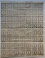 Banknoten Kitzingen. Städtische Sparkasse. 1, 2 pf 1920, type sans filigrane, 28 billets de 1 pf, & 28 de 2 pf