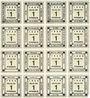 Banknoten Kitzingen, Städtische Sparkasse, bloc de 2 séries de 8 billets, 1 pf 1920, type sans filigrane