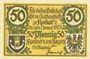 Banknoten Konitz (Chojnice, Pologne). Stadt. Billet. 50 pf 20.3.1921