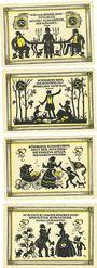 Banknoten Köstritz. Gemeinde. Série de 4 billets. 50 pf (4ex) (1921)
