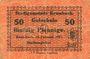 Banknoten Krumbach. Stadt. Billet. 50 pf 15.2.1917