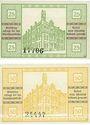 Banknoten Kyritz. Stadt. Billets. 25 pf, 50 pf 1.9.1920