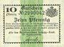 Banknoten Leipzig-Land, Amtshauptmannschaft, billet, 10 pf n.d. - 31.12.1919