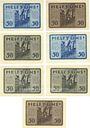 Banknoten Leipzig-Land, Volkshaus, billets, 50 pf n.d. - 30.6.1922 (7ex)