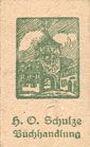 Banknoten Lichtenfels a. Main, H. O. Schulze Buchhandlung, billet, 10 pf (1920), lettre H