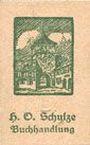 Banknoten Lichtenfels a. Main, H. O. Schulze Buchhandlung, billet, 10 pf (1920), lettre L