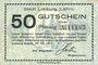 Banknoten Limburg a. d. Lahn, Stadt, billet, 50 pf 20.7.1917