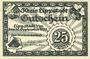 Banknoten Lippstadt, Kreis, billet, 25 pf 10.9.1920