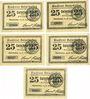 Banknoten Osterhofen, Stadt, série de 5 billets, 25 pfennig 27.1.1917