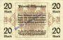 Banknoten Ostpreußen (Pologne, Russie, Lituanie), Provinzialverband, billet, 20 mark 10.12.1918, annulation...