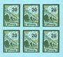 Banknoten Salzburghofen, Gemeinde, billets, 6 x 20 pf 1920