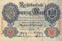 Banknoten Allemagne. Billet. 20 mark 7.2.1908, D série A