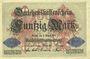Banknoten Allemagne. Billet. 50 mark 5.8.1914, série B
