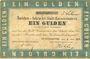 Banknoten Allemagne. Kaiserslautern Stadt. Darlehenscheine. Billet. 1 gulden 31.7.1870