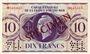 Banknoten Afrique Equatoriale Française Caisse Centrale de la France  d'Outre Mer, 10 F type 1943 SPECIMEN