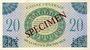 Banknoten Afrique Equatoriale Française Caisse Centrale de la France  d'Outre Mer, 20 F type 1943 SPECIMEN