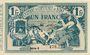 Banknoten Algérie. Chambre de Commerce de Bône. Billet. 1 franc 30.7.1919