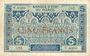 Banknoten Banque d'Etat du Maroc. Billet. 5 francs, 2e type, 1924