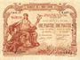 Banknoten Indochine. Saigon. Billet. 1 piastre, type marron
