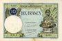 Banknoten Madagascar. Billet. 10 francs type 1926, n. d.