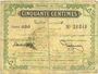 Banknoten Tunisie. Régence de Tunis. Billet. 50 centimes, 4e émission, 30.9.1918