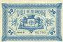 Banknoten 50 centimes 18.12.1918. Série C. Signatures imprimées du receveur municipal et du président de la co