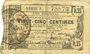Banknoten Aisne, Ardennes et Marne - Bon régional. Hirson. Billet. 25 cmes 14.6.1917, série 3
