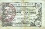 Banknoten Aisne, Ardennes et Marne - Bon régional. Laon. Billet. 50 cmes 16.6.1916, série 31