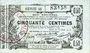 Banknoten Aisne, Ardennes et Marne - Bon régional. Laon. Billet. 50 cmes 16.6.1916, série 41