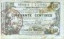 Banknoten Aisne, Ardennes et Marne - Bon régional. Laon. Billet. 50 cmes 16.6.1916, série 5
