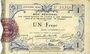 Banknoten Aisne et  Ardennes - Bon régional, Laon, billet, 1 franc 19.9.1915, 4e série