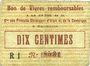 Banknoten Alais = Alès (30). Cie des Produits Chimiques d'Alais & Camargue. Billet. 10 cmes